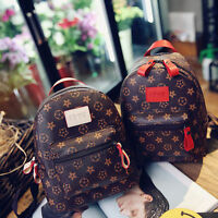Women Casual Faux Leather Vintage Mini Backpack Rucksack New Shouder Bag Handbag