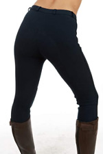 Sherwood Forest Ladies Plain Yield Womens Pants Jodhpurs - Black All Sizes 18 Reg