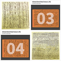 For 1/32 1/48 Scale Model Making Texture DIY Wood Grain Etching Sheet Stencil