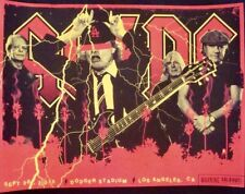 AC/DC LOS ANGELES 2015 Limited edition print Concert poster KII ARENS 18x24 Mint