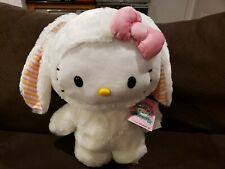 Hello Kitty Easter Bunny Door Greeter Rare Large Plush 2021