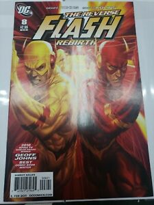 Flash #8 Variant ArtGerm Ratio 1:10 Reverse Flash DC Comics 2010 Justice League