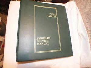 Jaguar XJ6 & XJ12 Series 3  l Service  Binder /  Manual  ) Pub. No. AKM 9006