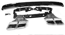 AMG Look Diffusor Für Mercedes-Benz E-Klasse W212 E63 Heckschürze Stoßstange *45