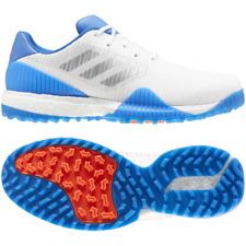 adidas CODECHAOS Sport Mens Golf Shoes White/ Silver / Blue