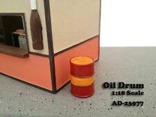 American Diorama 23977 Öl Fass (2 Stück) 1:18 limitiert 1/1000