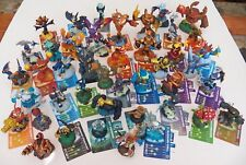 Lot 45 Skylanders Figures Activision Many with Codes & Cards + Castle Case