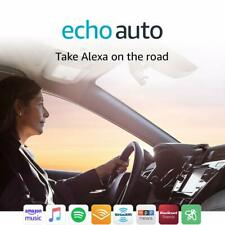 NEW! Amazon Echo Auto (Add Alexa to Your Car) + Air Vent Mount! FREE Shipping!