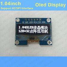 1.04inch White OLED display module 128*32 dot Matrix  IIC SPI SSD1305 F Arduino