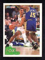 1993-94 Fleer #12 Rick Fox Boston Celtics Basketball Card NM/MT