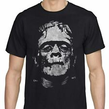 FRANKENSTEIN T-Shirt Scary Horror Monster Movie Classic HALLOWEEN Crew Neck Tee