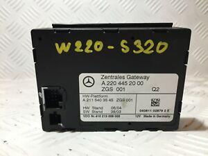 #1161_Mercedes Benz W220-S320 Gateway Control Module A2204452000