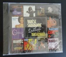VARESE SARABANDE Spotlight On Broadway CD Promotional NEW Free Shipping SEALED
