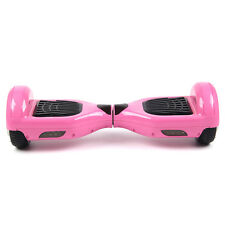 "Self Balancing 6.5"" E-Scooter Pink Bluetooth Remote Led Samsung Cells Batteries"