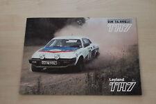 154902) Triumph TR 7 Prospekt 197?