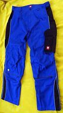 engelbert strauss Arbeitshose leichte Bundhose e.s. active blau Gr. 52 NEU