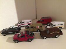 Land Rover Sammlung: 7x Land Rover 110, Freelander & Range Rover Scale 1/43 TOP