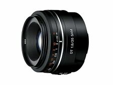 SONY single focus wide angle lens DT 35 mm F 1.8 SAM APS-C compatible