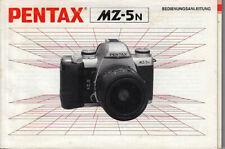 Pentax Bedienungsanleitung für Pentax MZ-5N #su