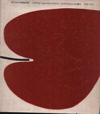 Victor Pasmore. Catalogo ragionato di pittura... Bowness, Lambertini. ARCH5