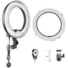 """Neewer Ring Flash Light Kit with 14"""" Softbox and 8 LED Smartphone Fill-lights"""