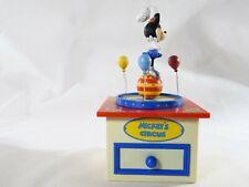 SCHMID boîte à musique Minnie Mickey's Circus Disney 19 cm hauteur