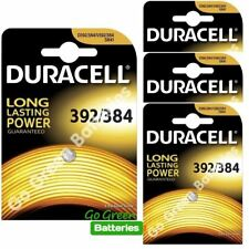4 x Duracell 392 384 1.5V Silver Oxide watch battery SR41 D384 / 392 SR41W V392