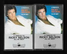 RICKY NELSON  :  ALL MY BEST ,  2 CASSETTES   ( SILVER EAGLE RECORDS , CANADA )