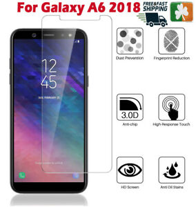 Premium Quality Tempered Glass Screen Protector Film For Samsung Galaxy A6 2018
