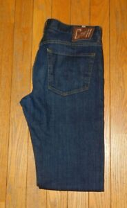 Men's Citizens Of Humanity Dark Wash Sid Classic Straight Leg Jeans Size 36