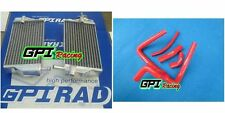 FOR Honda CR250 CR 250 R CR250R 2002-2004 2003 aluminum radiator + RED hose