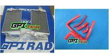 FOR Honda CR250 CR 250 R CR250R 2002-2004 2003 aluminum radiator + RED hose