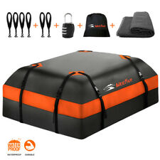 Roof top Bag Cargo Carrier Waterproof 15 Cubic for All Cars with/Without Rack