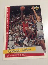 1993 Upper Deck NBA Signature Moves Basketball Card #240 Dominique Wilkins