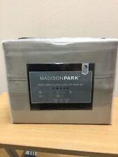 Madison Park 800T 6pc King Sheet Set (Khaki)