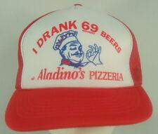I Drank 69 Different Beers Aladinos Pizzeria Pizza Snapback Mesh Hat Truckergate