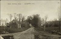 Gilmanton NH Iron Works Road c1910 Real Photo Postcard
