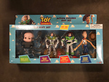 Toy Story Action Figures Gift Set Disney Baby Face Buzz Lightyear Woody NIB NOS
