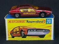 Matchbox Superfast MB20-A1: Lamborghini Marzal with Type G Box