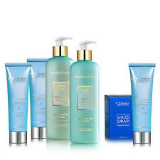 Premier Dead Sea Complete Day Care Kit Facial Cleanser Mud Soap with Free Bag