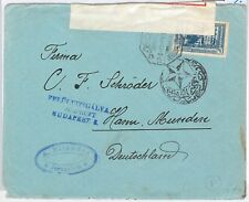 64389 -  TURKEY Ottoman Empire POSTAL HISTORY: COVER from JERUSALEM  Censor