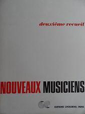 Músicos nuevos segundo Libro Nouveaux músicos Piano Partituras # 3d201