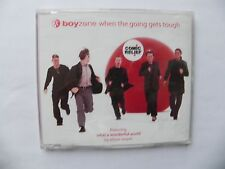 BOYZONE 3 TK CD SINGLE WHEN THE GOING GETS TOUGH