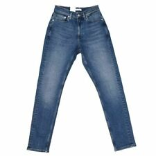 CALVIN KLEIN Jeans Blue Faded Slim Fit Size 26 RRP £110 RL 335