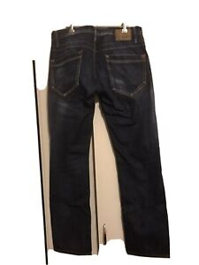 Mens Pepe London jeans , Dark blue,Pre Owned W34 L34 , Straight leg