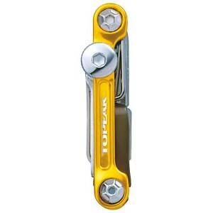 Topeak Mini 20 Function Pro Bike/Cycle/Cycling Work Multi Tool - Gold