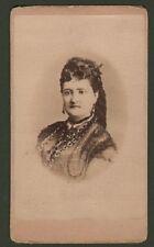 Patti Carlotta (1840 – 1889). Soprano italiano. Bella foto (circa 1880).