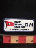 Vtg DC DIXIE INLAND DIVISION A KIRBY COMPANY DMI Uniform /Advertising Patch 76I2