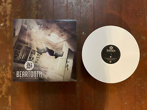 Beartooth - Disgusting Vinyl Record LP White 1st Press W Stickers