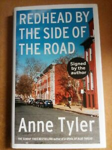 Redhead By The Side Of The Road Anne Tyler hardback SIGNED